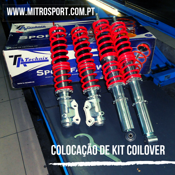 kit de coilover technix na mitrosport
