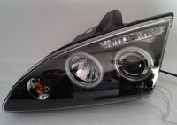Faróis Angel Eyes CCFL para Ford Focus 05 +