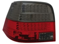 Farolins em led escurecidos VW Golf IV