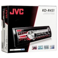 Auto Rádio JVC KDR-451E CD/MP3/USB